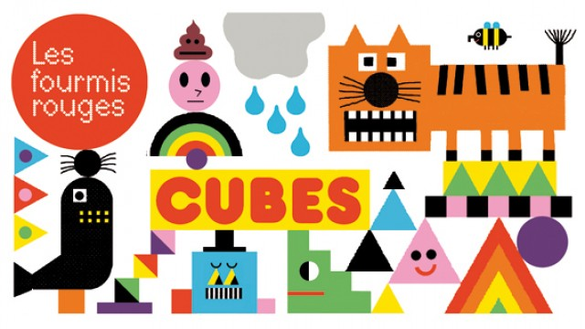 "Launch party for the ""Cubes"" series at indie publisher Les Fourmis Rouges"