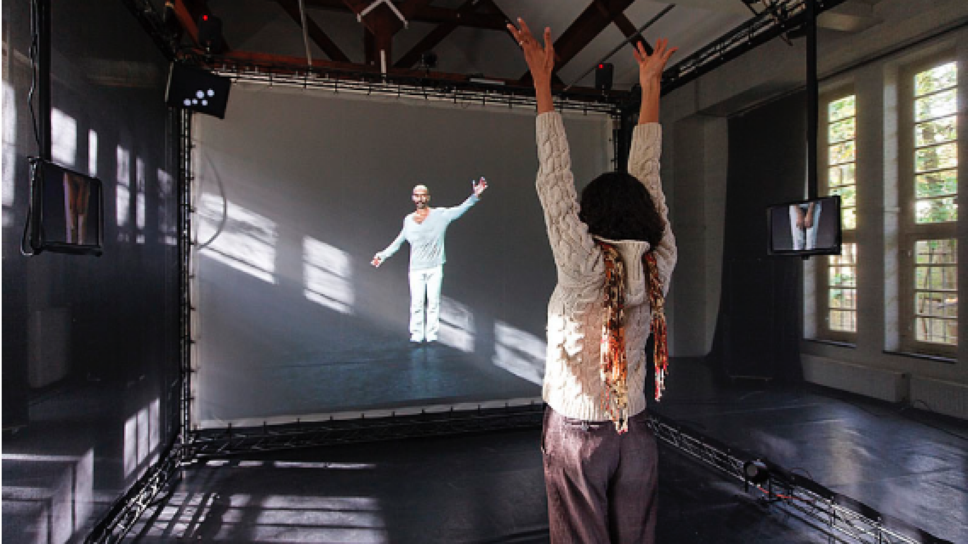 The movements of interactive systems put into dance