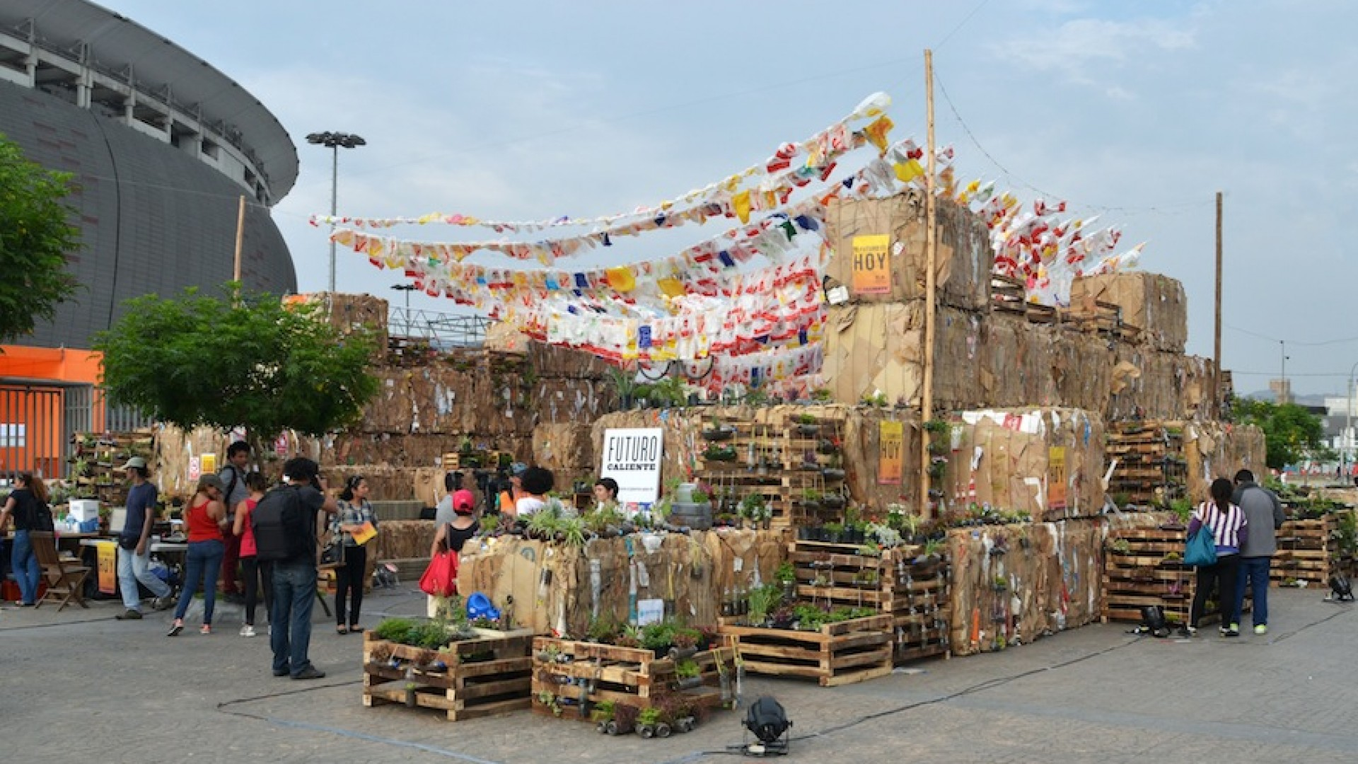 Art and culture are committed for COP21