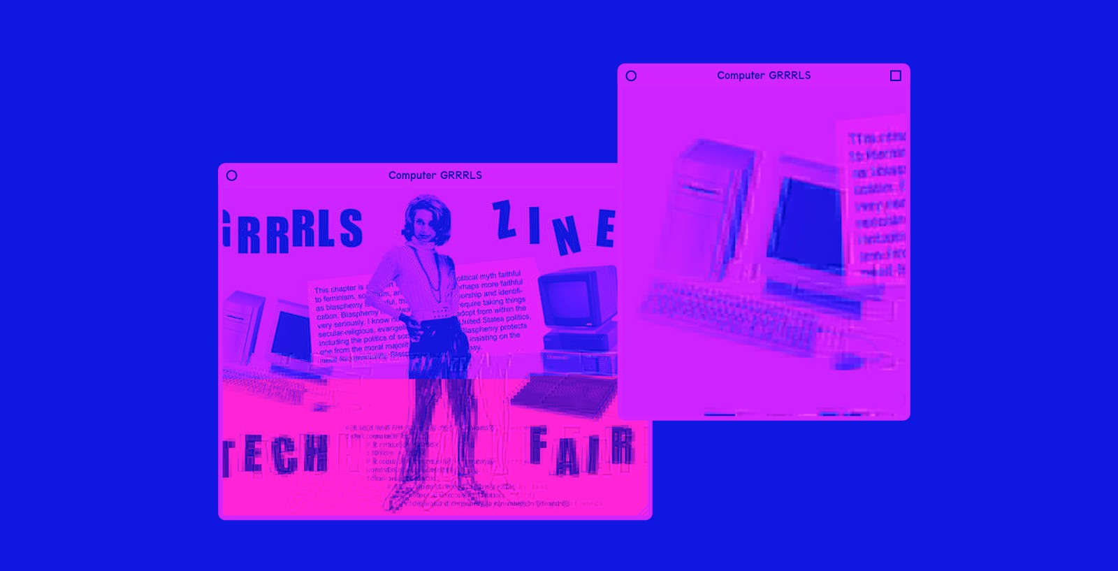Grrrls Tech Zine Fair