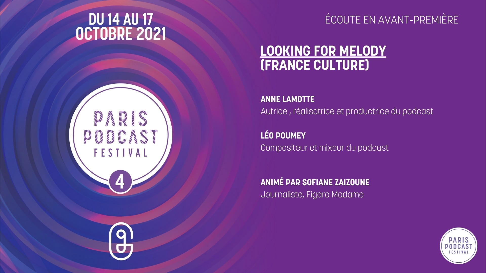 [Avant-première] Looking for Melody (France Culture)